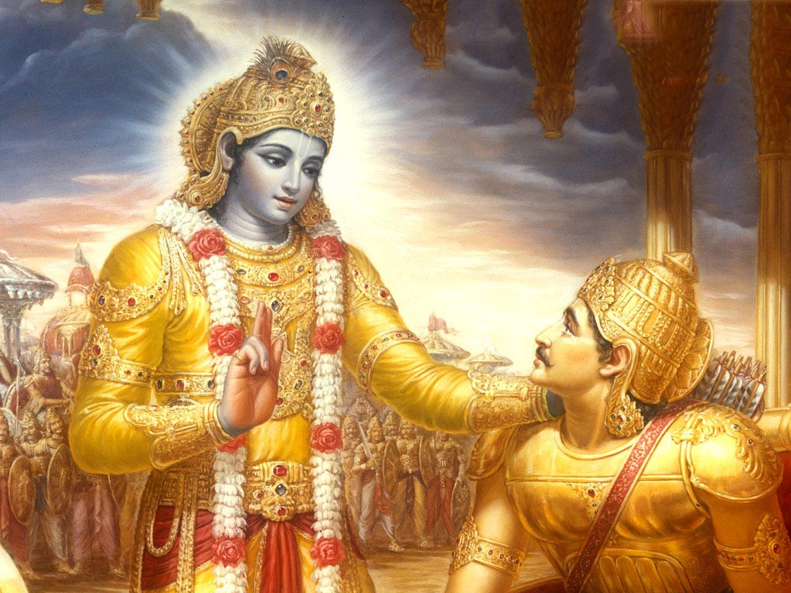 Krsna-fala-o-Bhagavad-gita-para-Arjuna1