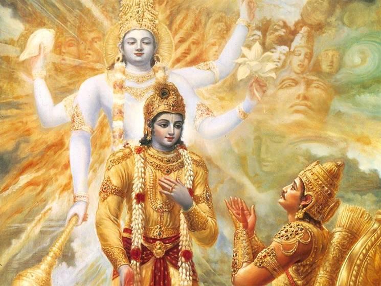 Ashtavakra Gita Krishna_arjuna_Mahabharata-Kurukshetra1